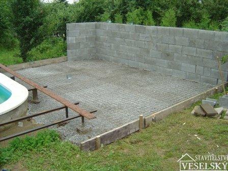 Stavba zpevněné plochy